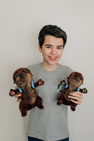 The Adventurers Otter Plushie Combo Pack