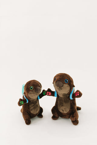 The Adventurers Otter Plushie