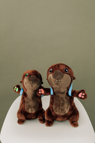 The Adventurers Otter Plushie Combo Pack (Pre-Order)