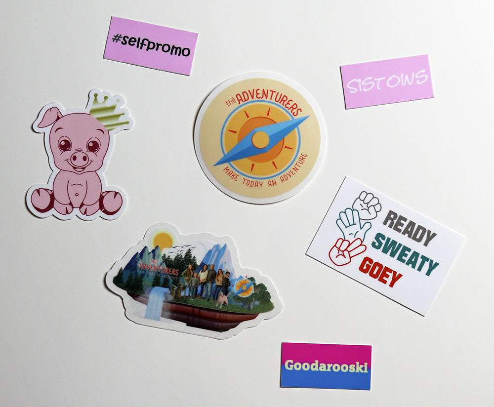 The Adventurers Sticker Pack