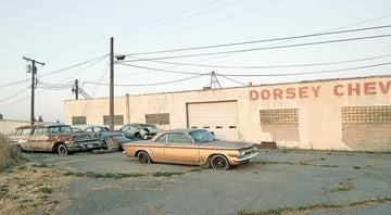 Old Car Yard, Idaho, USA, LTD | Christian Fletcher Photo Images | Landscape Photography Australia