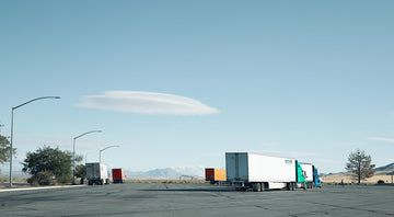 Truck Stop, Nevada, USA, LTD | Christian Fletcher Photo Images | Landscape Photography Australia