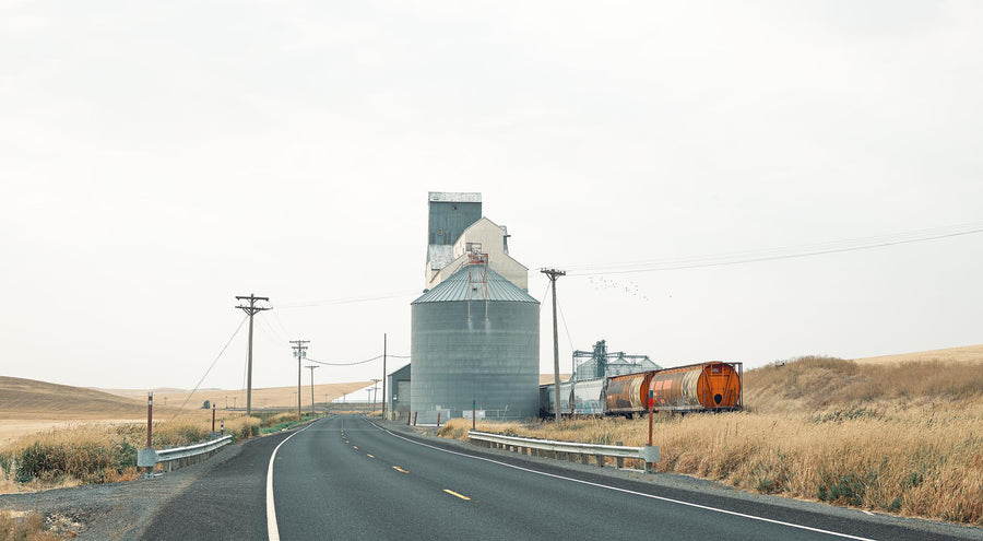 Wheat Silo, The Palouse, Washington, USA, LTD | Christian Fletcher Photo Images | Landscape Photography Australia