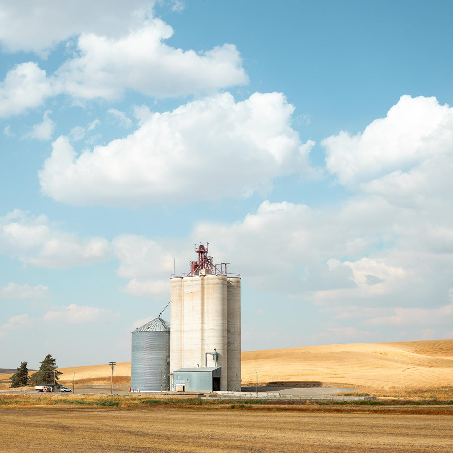Silo, The Palouse, Washington, USA, LTD | Christian Fletcher Photo Images | Landscape Photography Australia