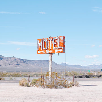 Old Sign, Nevada USA, LTD | Christian Fletcher Photo Images | Landscape Photography Australia