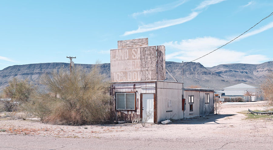 Derelict Building, Nevada, USA, LTD | Christian Fletcher Photo Images | Landscape Photography Australia