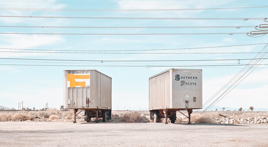 Trailers, Nevada, USA, LTD | Christian Fletcher Photo Images | Landscape Photography Australia