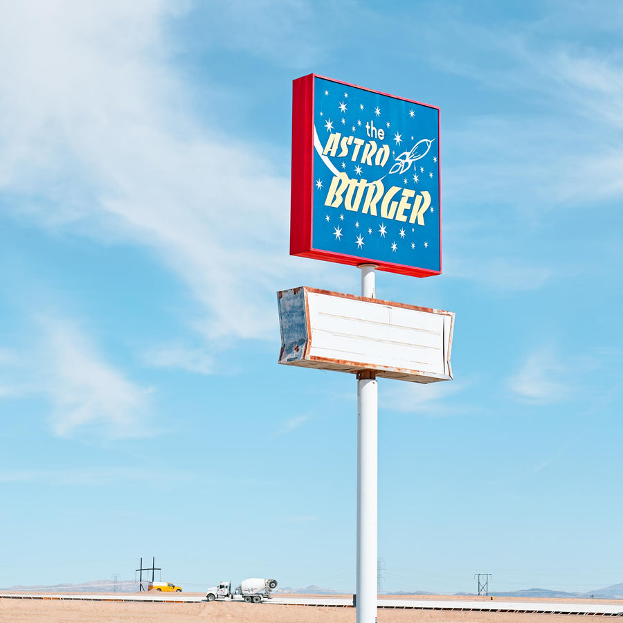 Astro Burger, Kramer Junction, California, USA, LTD | Christian Fletcher Photo Images | Landscape Photography Australia