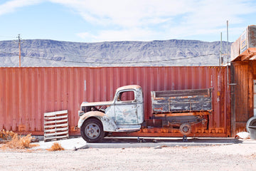 Truck, Kingman, Nevada, USA  LTD | Christian Fletcher Photo Images | Landscape Photography Australia