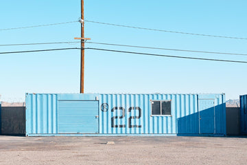 Sea Containers, Barstow, California, USA  LTD | Christian Fletcher Photo Images | Landscape Photography Australia