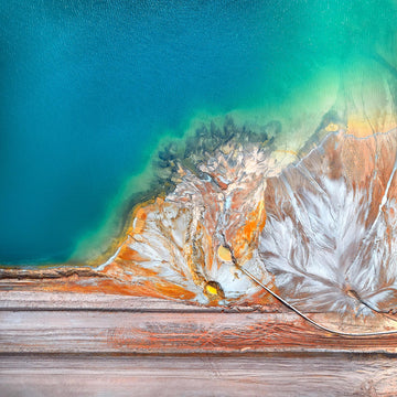 Tailings Dam, Cataby, Western Australia | Christian Fletcher Photo Images | Landscape Photography Australia