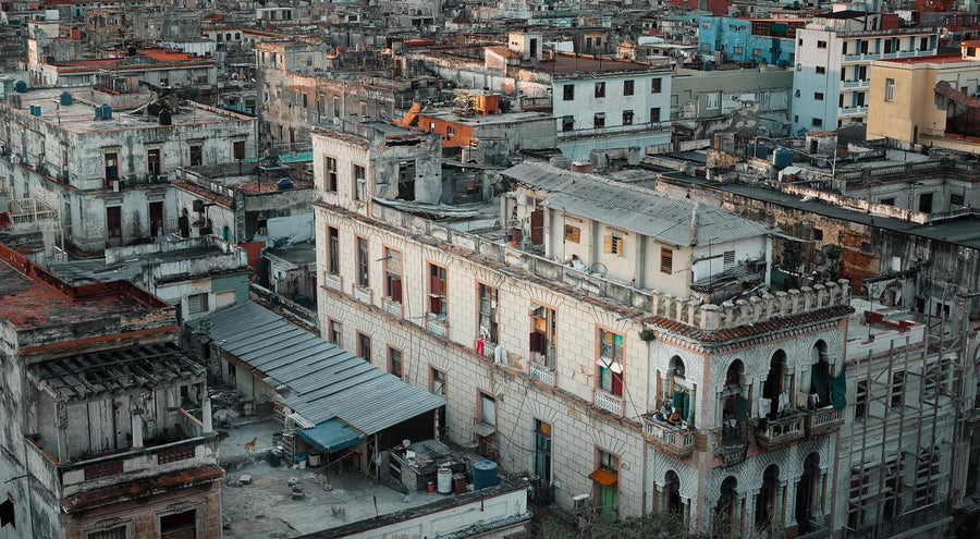 Scarf Cashmere - Havana, Cuba, Central America | Christian Fletcher Photo Images | Landscape Photography Australia