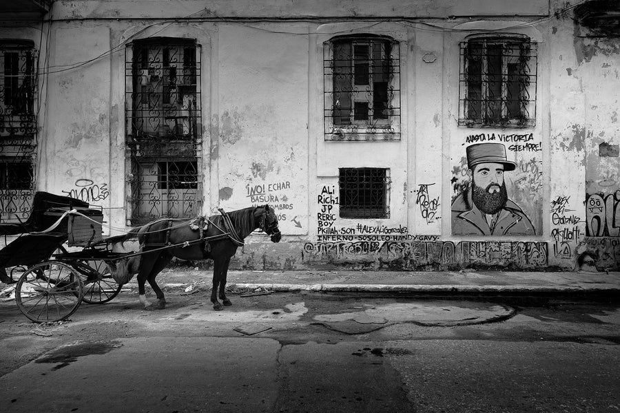 Horse and Buggy, Cuba | Christian Fletcher Photo Images | Landscape Photography Australia