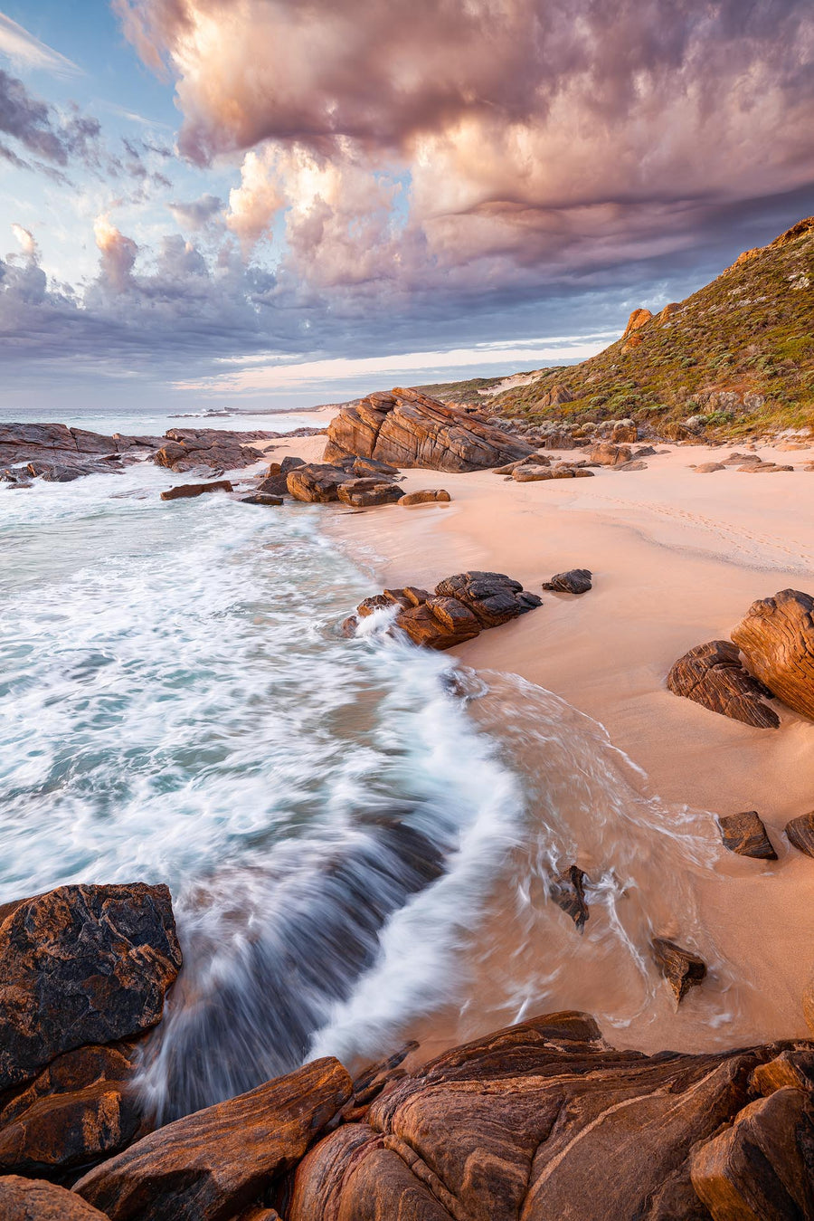 Honeycombs Beach, Cape Naturaliste, South Western Australia | Christian Fletcher Photo Images | Landscape Photography Australia