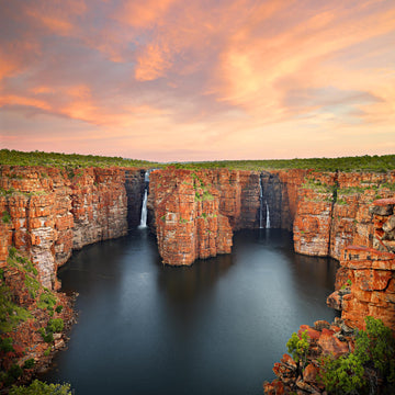 King George Falls, Kimberley, North Western Australia - Christian Fletcher Gallery