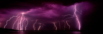 Lightning, Dunsborough, South Western Australia | Christian Fletcher Photo Images | Landscape Photography Australia