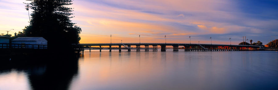 Old Mandurah Bridge, Mandurah, Western Australia | Christian Fletcher Photo Images | Landscape Photography Australia