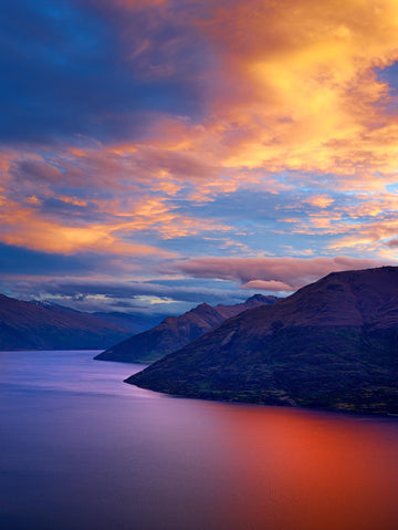 Lake Wakatipu, Queenstown, New Zealand | Christian Fletcher Photo Images | Landscape Photography Australia