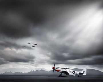 P51 Plane | Christian Fletcher Photo Images | Landscape Photography Australia