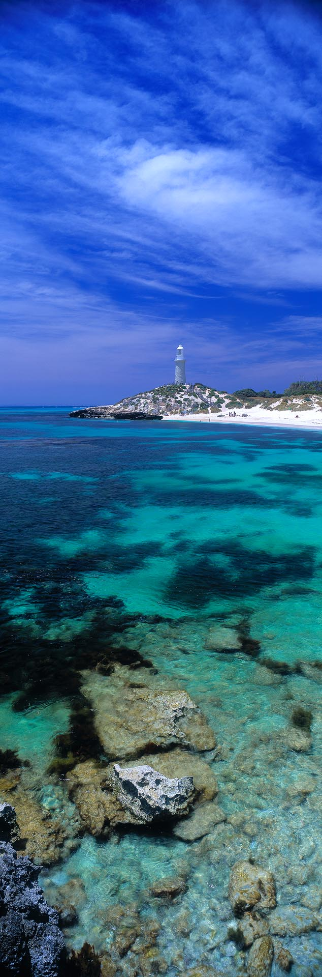 Bathurst Lighthouse, Rottnest Island, Western Australia - Christian Fletcher Gallery