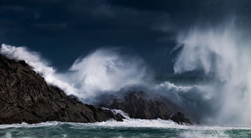 Winter Storm, Sugarloaf Rock, South Western Australia