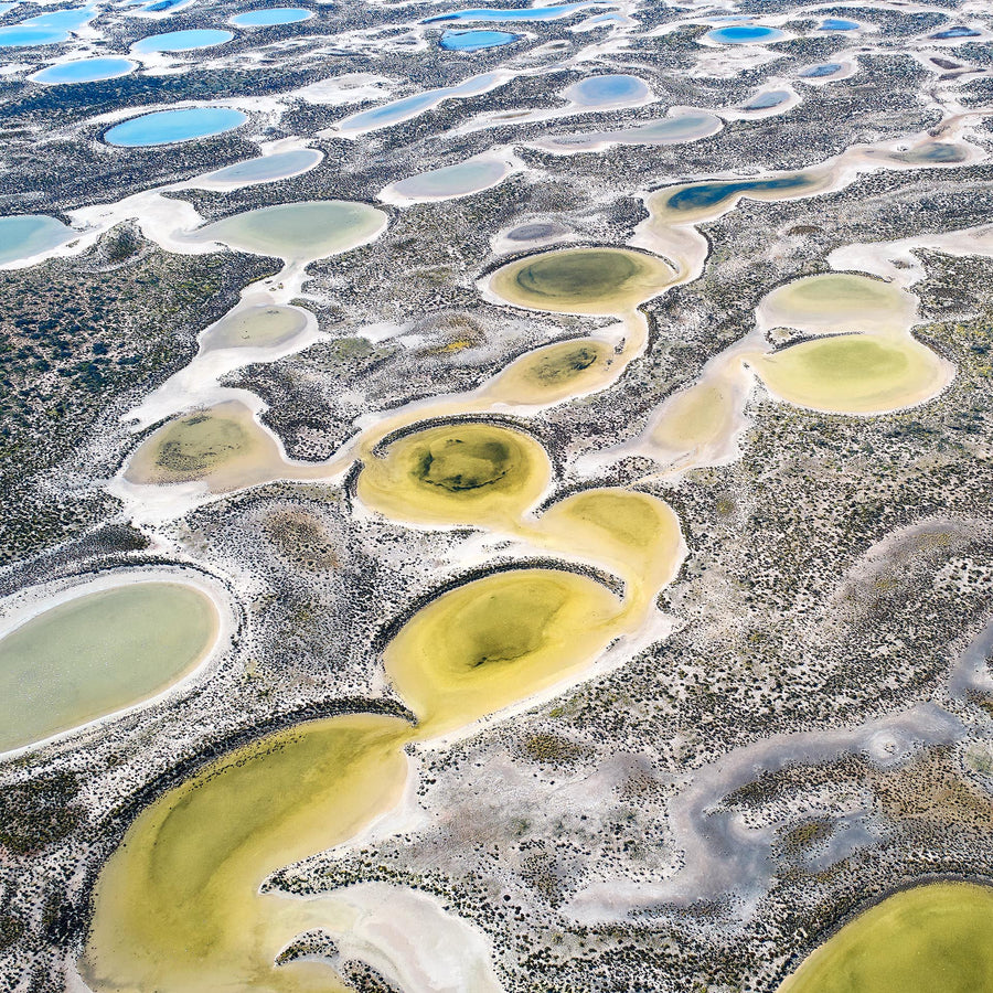 Wheatbelt, Salt Ponds, Western Australia | Christian Fletcher Photo Images | Landscape Photography Australia