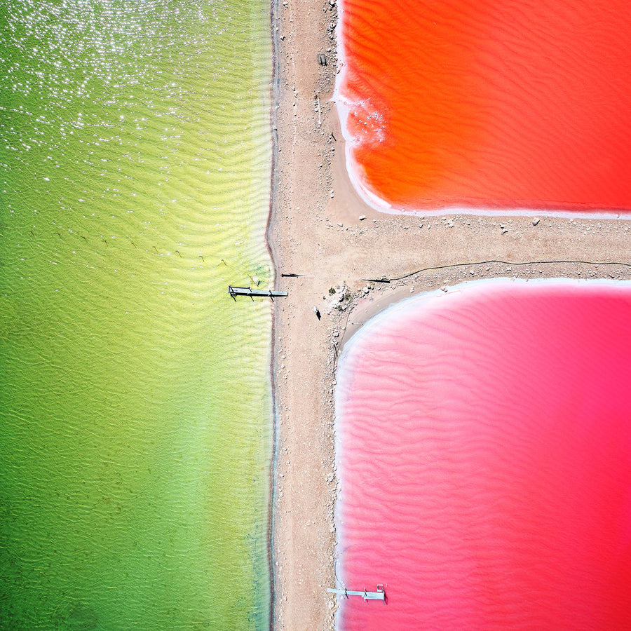 Salt Farm, Port Gregory, Western Australia | Christian Fletcher Photo Images | Landscape Photography Australia