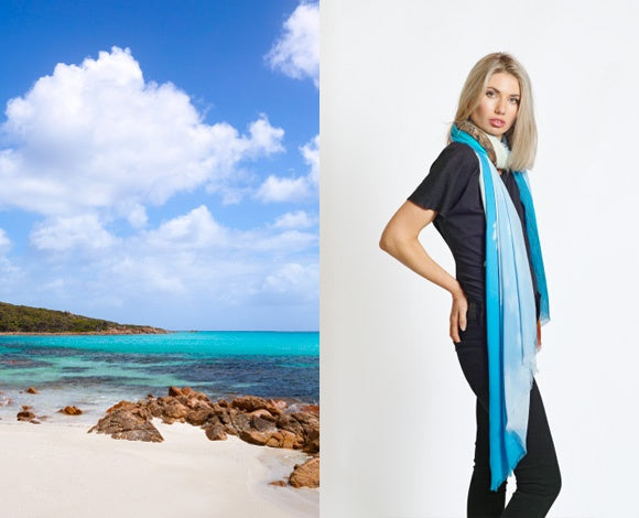 Scarf Cashmere - Curtis Bay, Dunsborough | Christian Fletcher Photo Images | Landscape Photography Australia