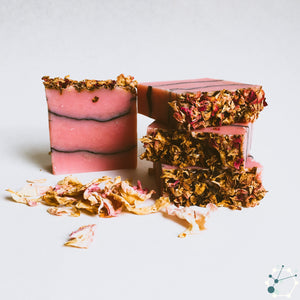 Wild Rose & Charcoal Soap