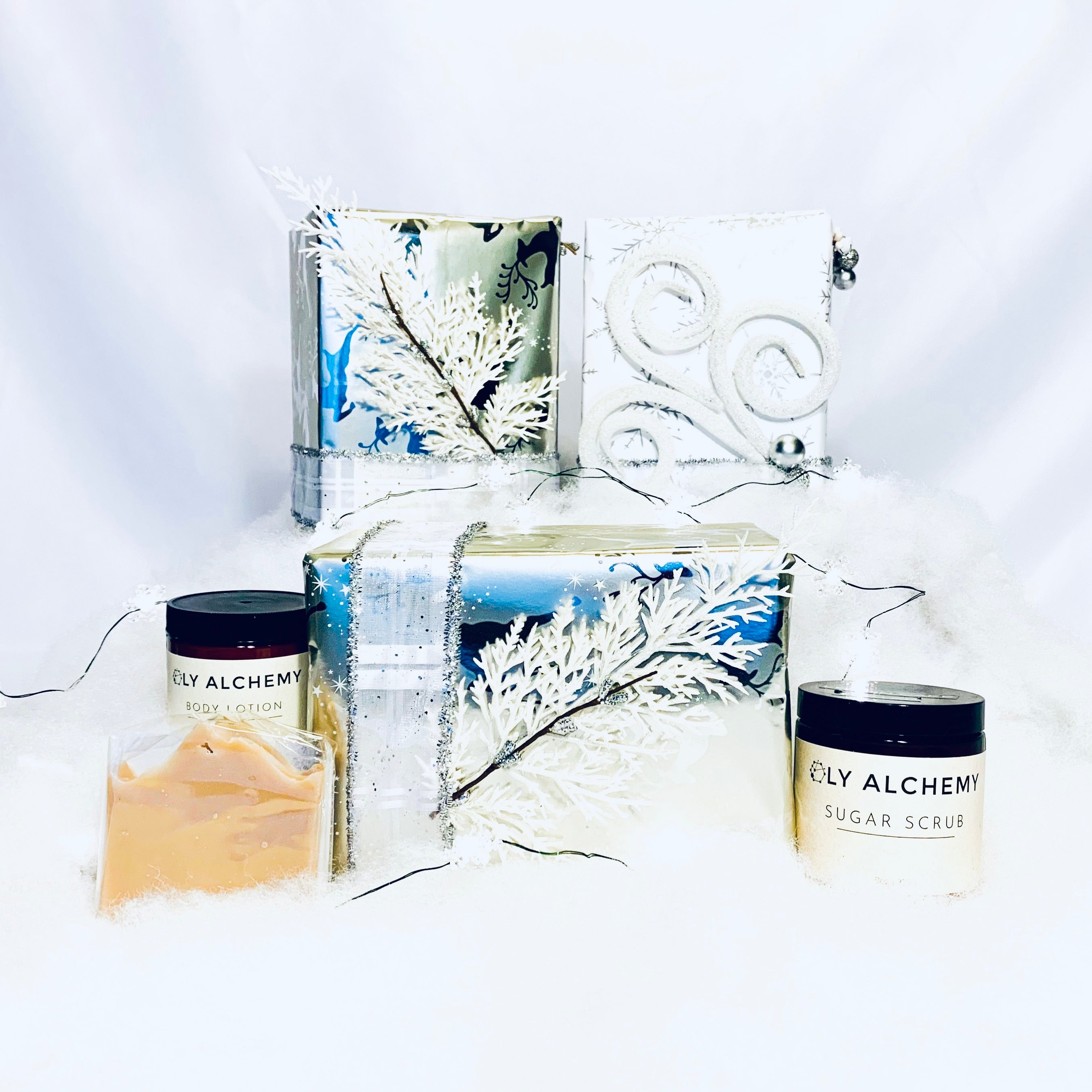 Coconut Holiday Gift Box