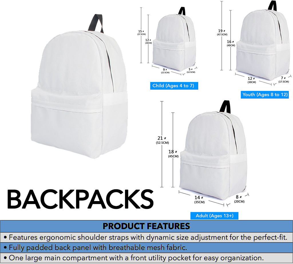 Tartan Backpack Product Details and Sizing