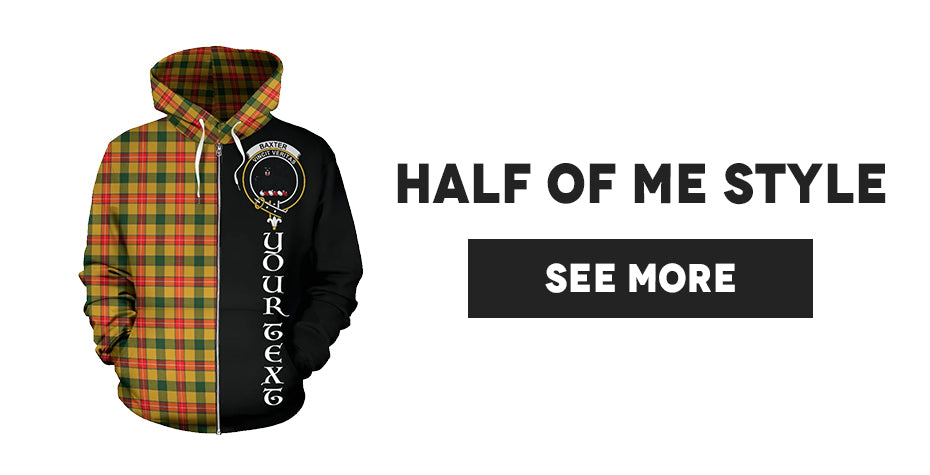 Tartan Custom Hoodies - Half Of Me Style