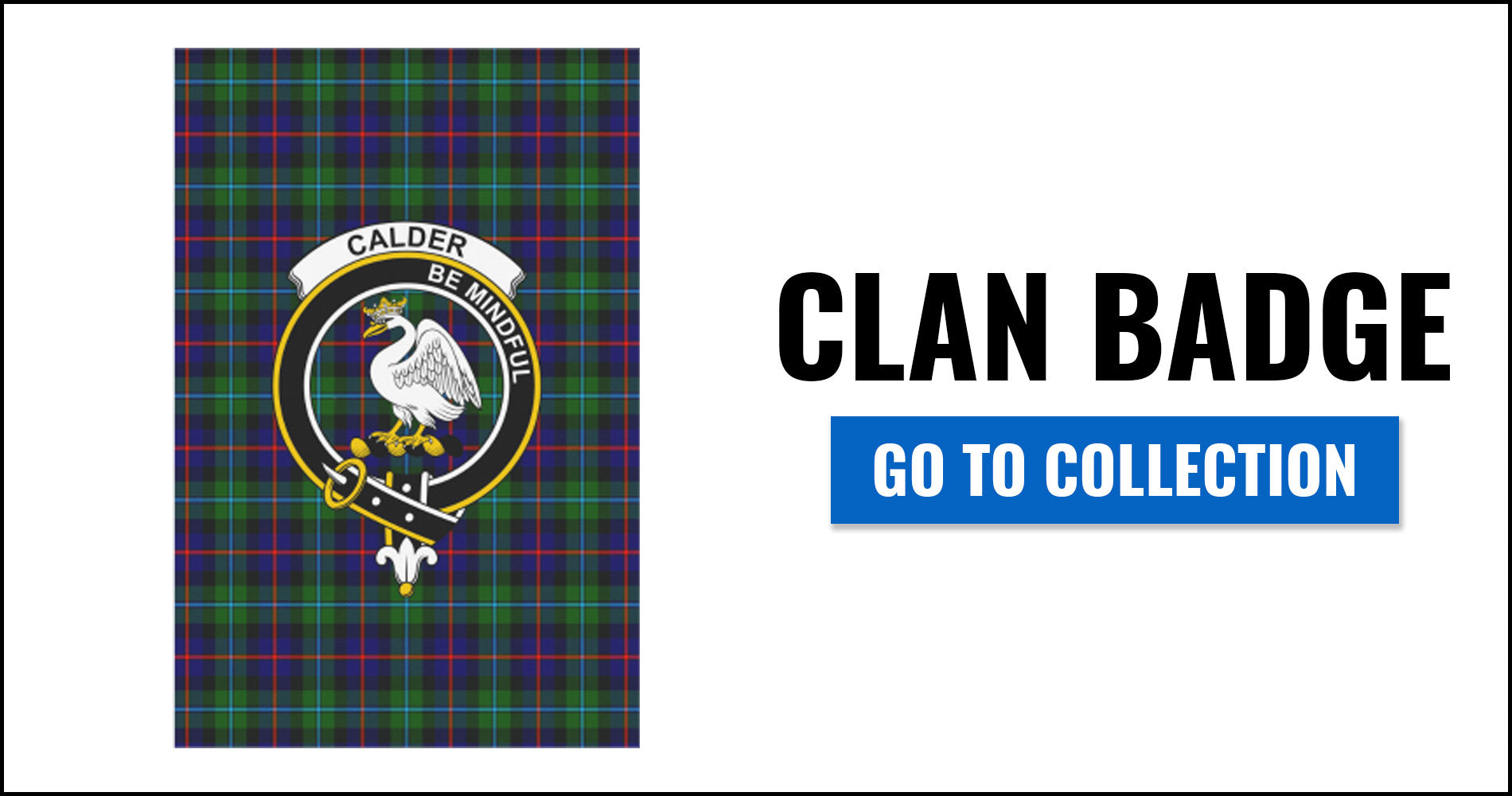 Clan Badge Tartan Flags