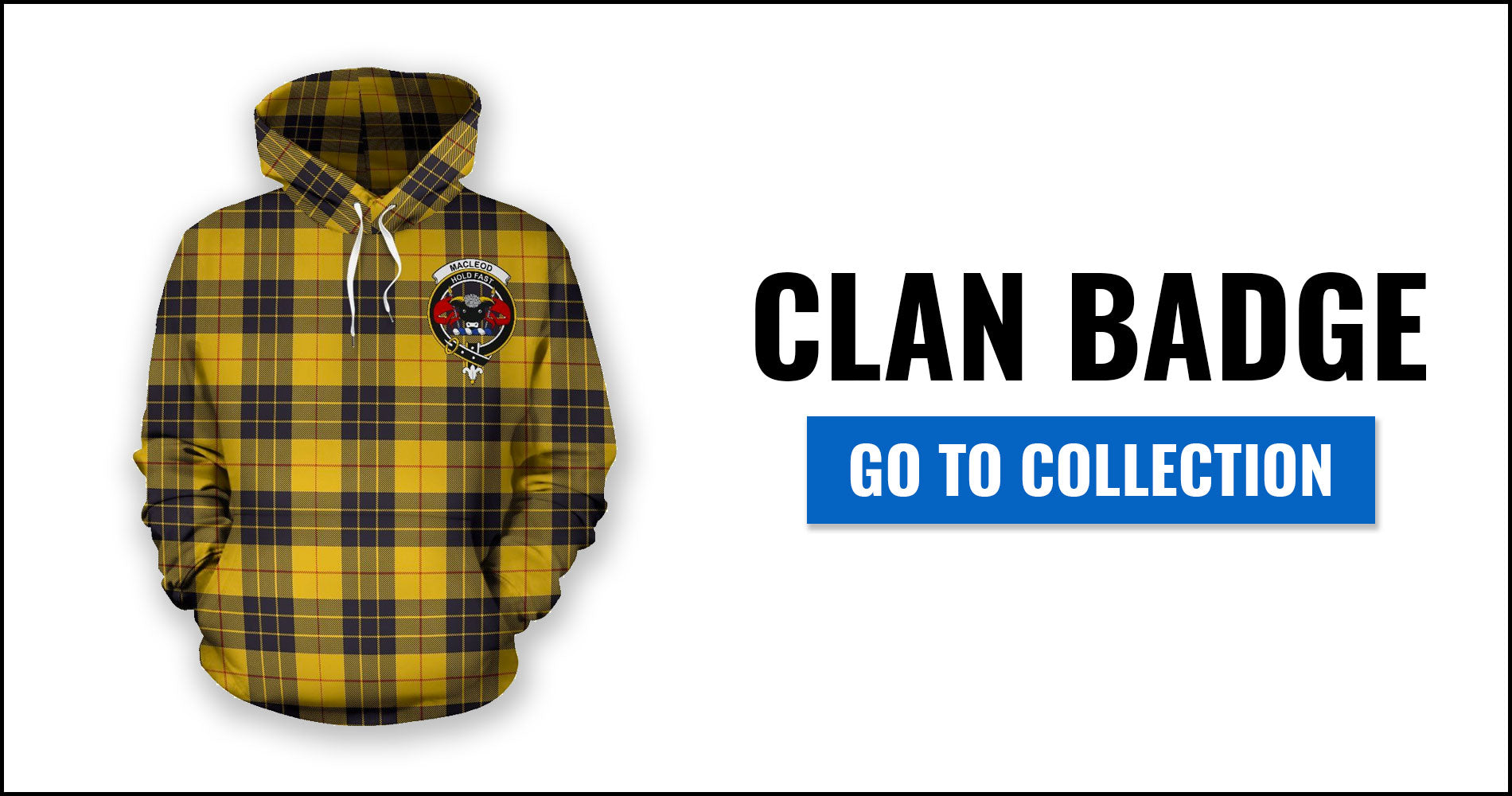 Clan Badge Tartan All Over Print Hoodies