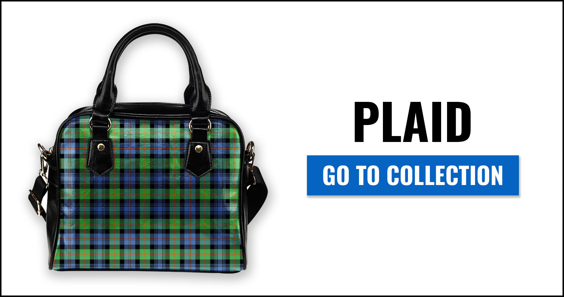 Plaid Tartan Shoulder Handbags