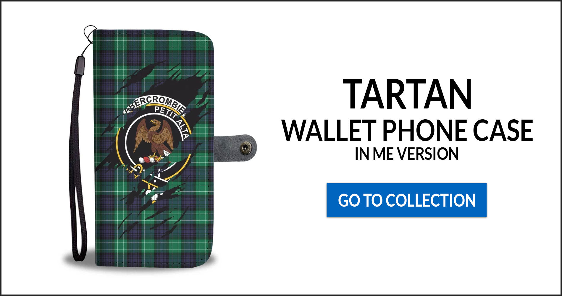 Tartan Wallet Phone Cases In Me Version