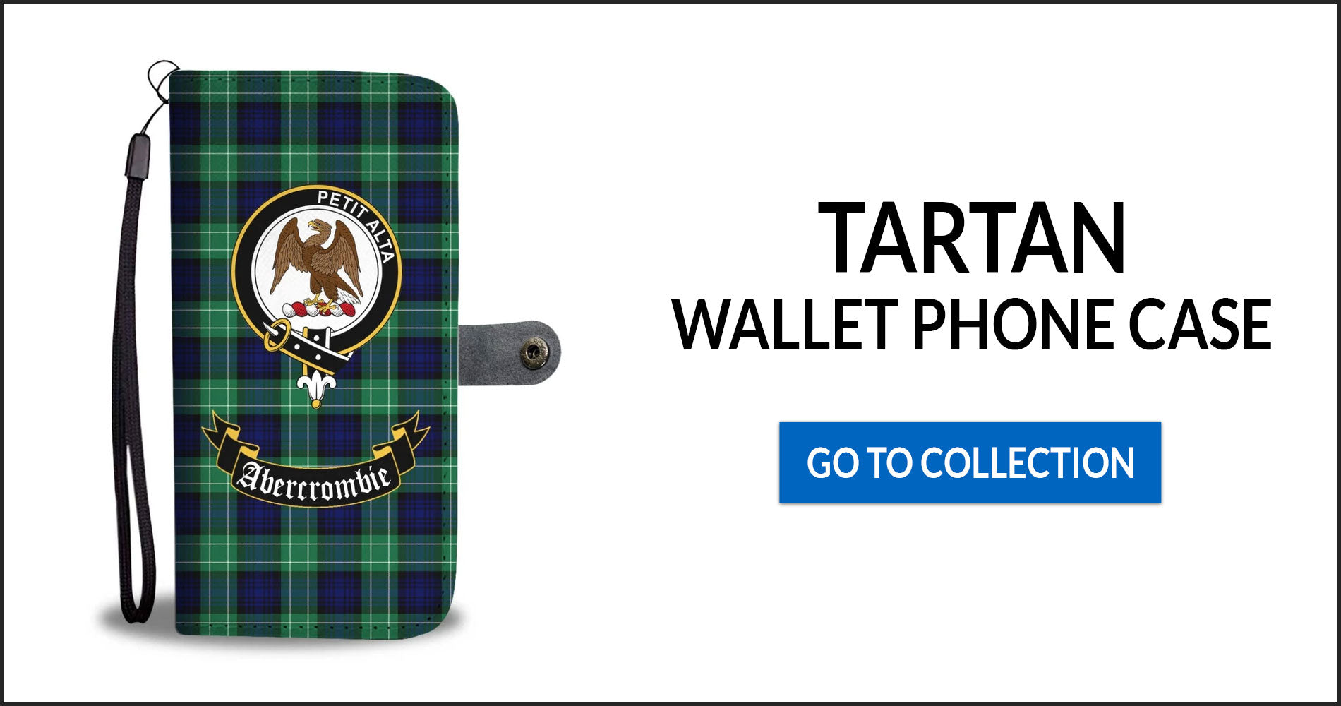 Tartan Wallet Phone Cases