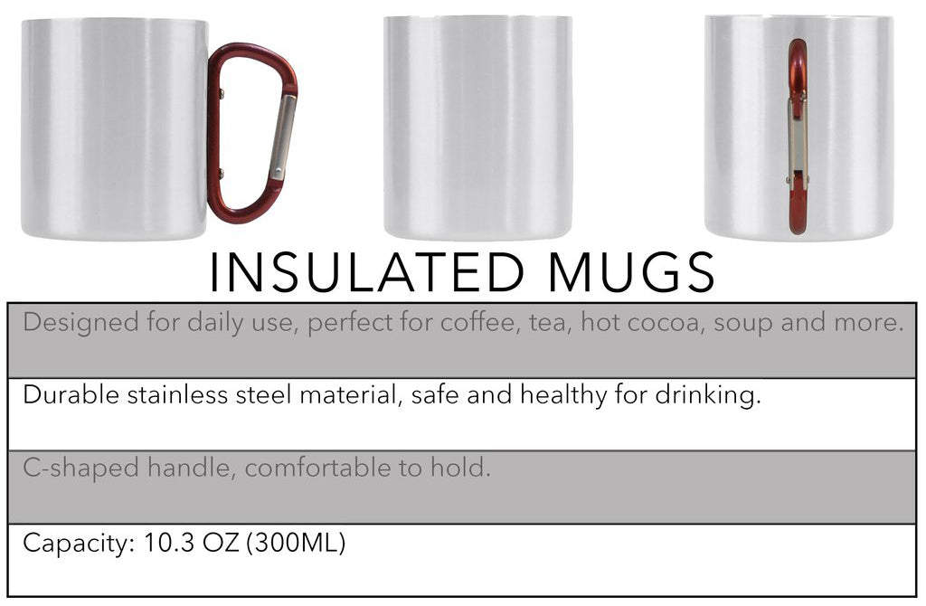 Tartan Insulated Mugs Products Details and Sizing