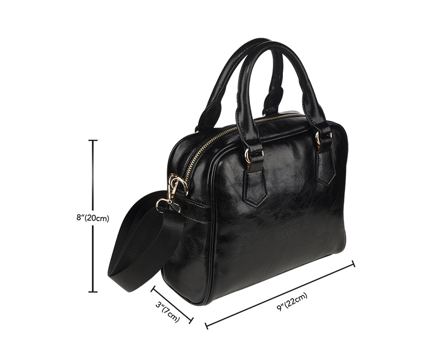 Tartan Shoulder Handbags Product Detail and Sizing