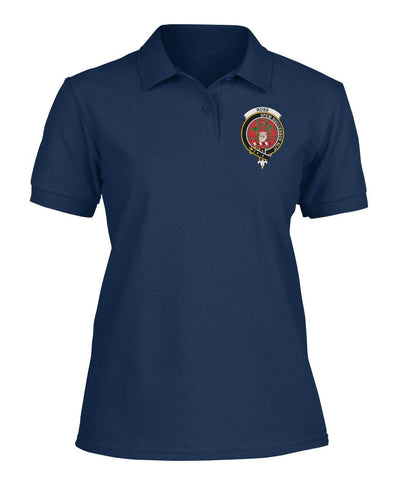 Polo T-Shirt - Ross Tartan Polo T-shirt for Men and Women