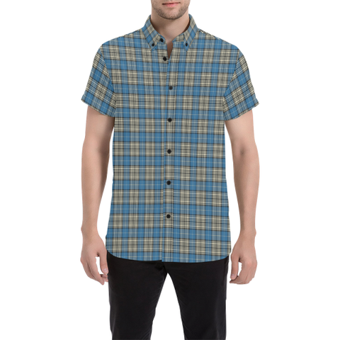 Tartan Shirt - Napier Ancient | Exclusive Over 500 Tartans | Special Custom Design