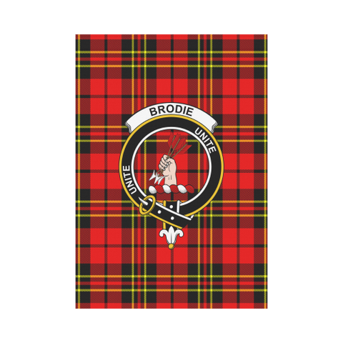 ScottishShop Garden Flag - Tartan Brodie Modern Flag  Clan Badge
