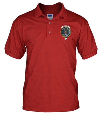 Image of forbes Tartan Polo T-shirt for Men and Women