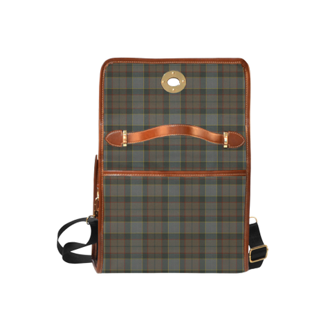 Outlander Fraser Tartan Canvas Bag | Special Custom Design