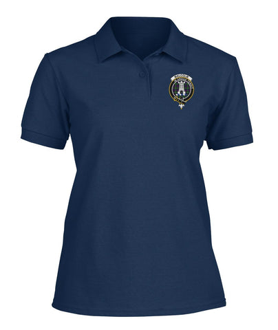 Image of Polo T-Shirt - Malcolm (or MacCallum) Tartan Polo T-shirt for Men and Women