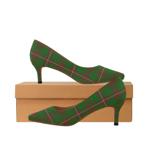 Mackinnon Hunting Modern Plaid Heels