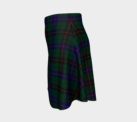 Tartan Flared Skirt - Davidson Modern |Over 500 Tartans | Special Custom Design | Love Scotland