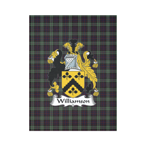 Image of Williamson Tartan Tapestry Clan Crest