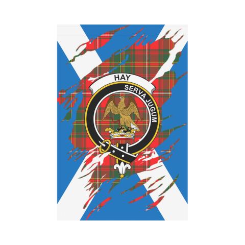 ScottishShop Garden Flag - Tartan Hay Lives In Me Flag