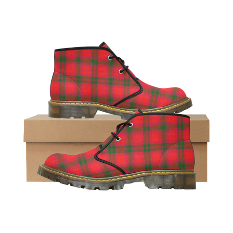 Image of MacNab Modern Tartan Chukka Boot | Over 500 Tartans | Special Custom Design | Love Scotland